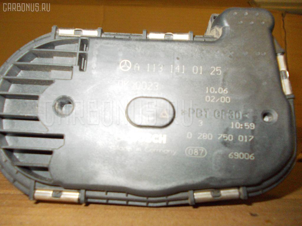 Дроссельная заслонка MERCEDES-BENZ E-CLASS W211.056 272.964 Фото 3