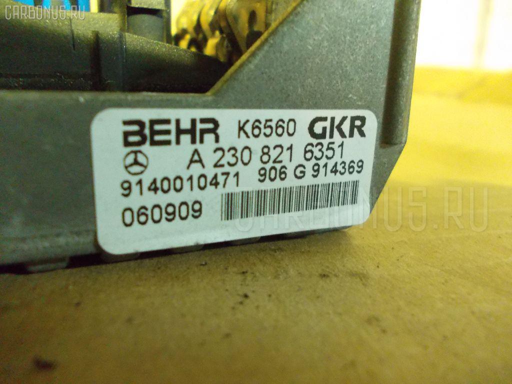Регулятор скорости мотора отопителя MERCEDES-BENZ E-CLASS W211.056 Фото 3