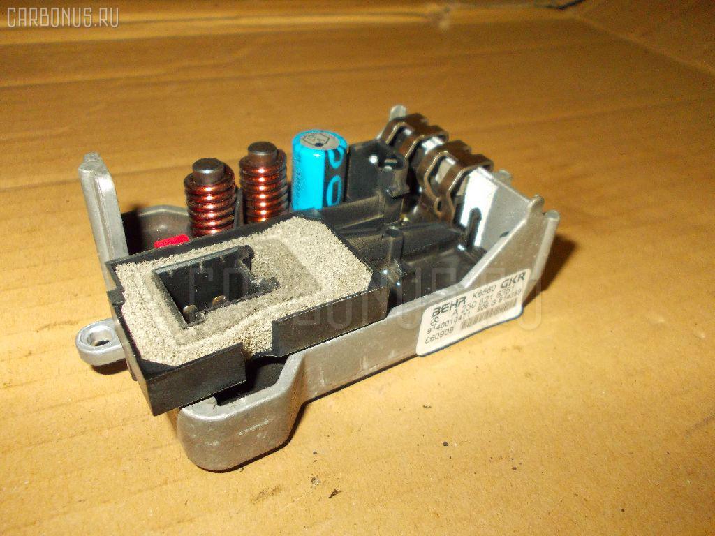 Регулятор скорости мотора отопителя MERCEDES-BENZ E-CLASS W211.056 Фото 1