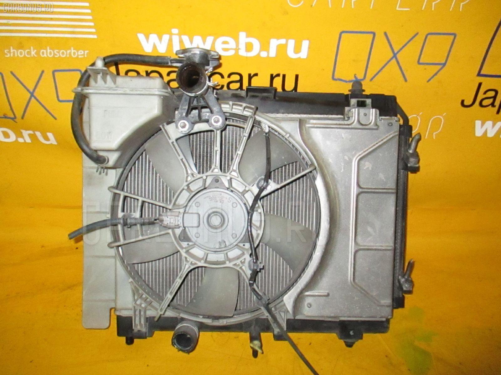 Радиатор ДВС TOYOTA VITZ KSP90 1KR-FE. Фото 7