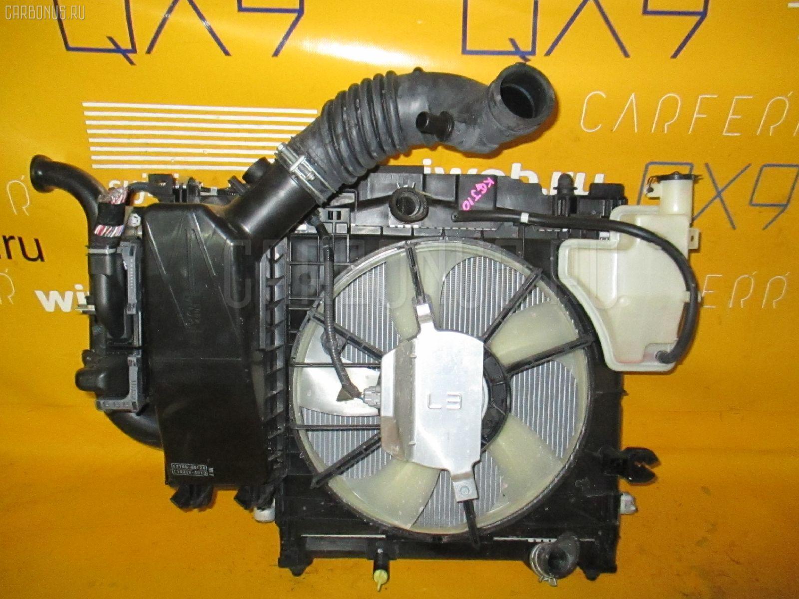 Радиатор ДВС TOYOTA IQ KGJ10 1KR-FE Фото 1
