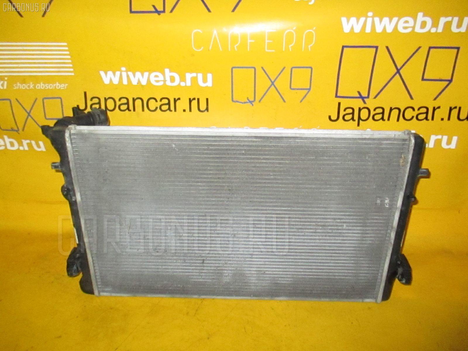 Радиатор ДВС VOLKSWAGEN GOLF IV 1JAPK APK. Фото 8