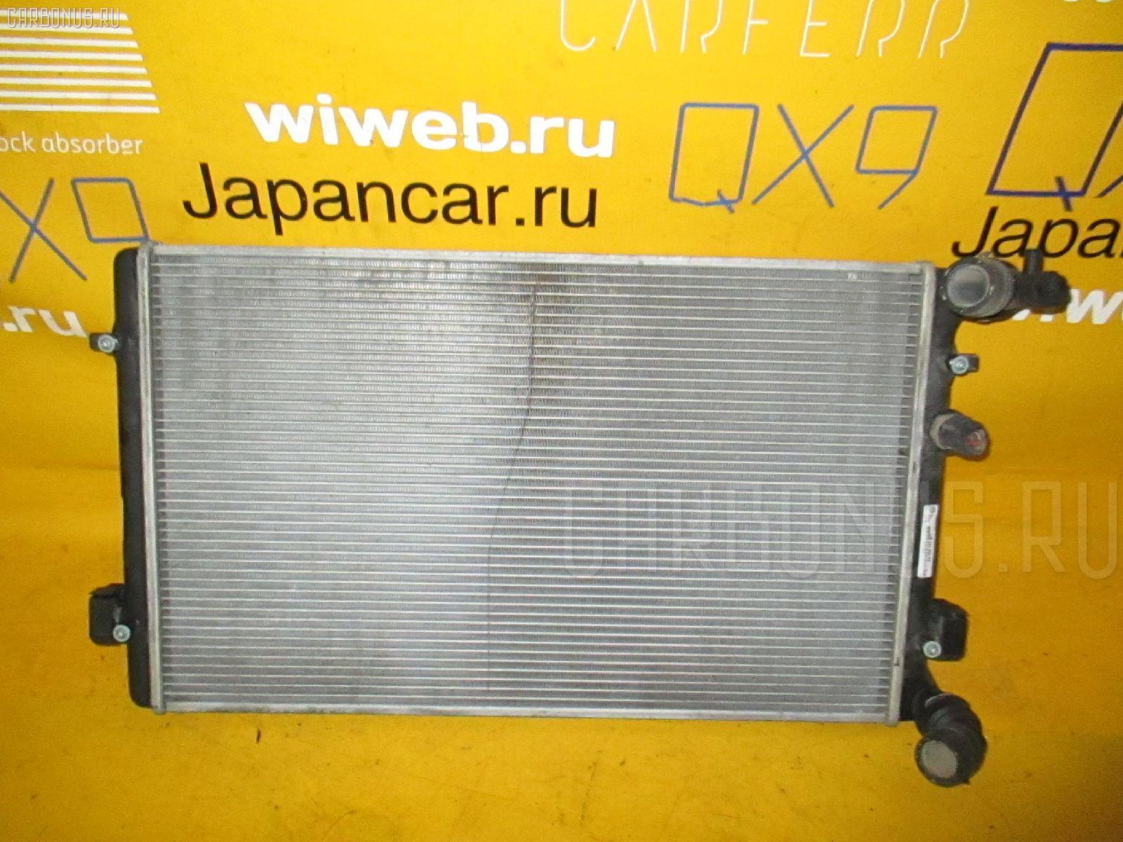 Радиатор ДВС VOLKSWAGEN GOLF IV 1JAPK APK. Фото 9