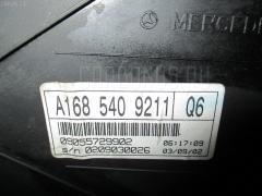 Спидометр MERCEDES-BENZ A-CLASS W168.033 166.960 Фото 1