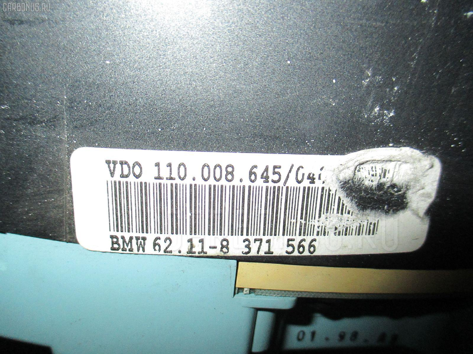 Спидометр BMW 3-SERIES E36-CG19 M44-194S1 Фото 2