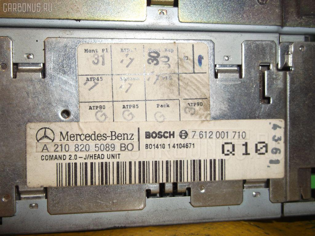 Автомагнитофон MERCEDES-BENZ E-CLASS STATION WAGON S210.270 Фото 5