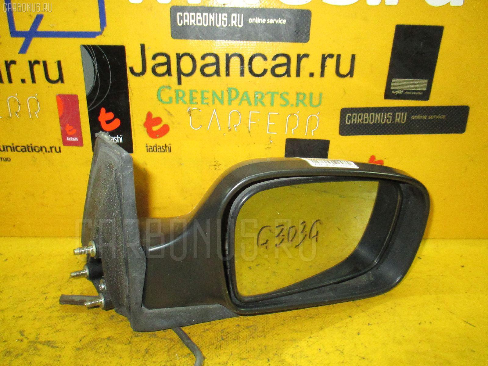 Зеркало двери боковой DAIHATSU PYZAR G303G. Фото 9