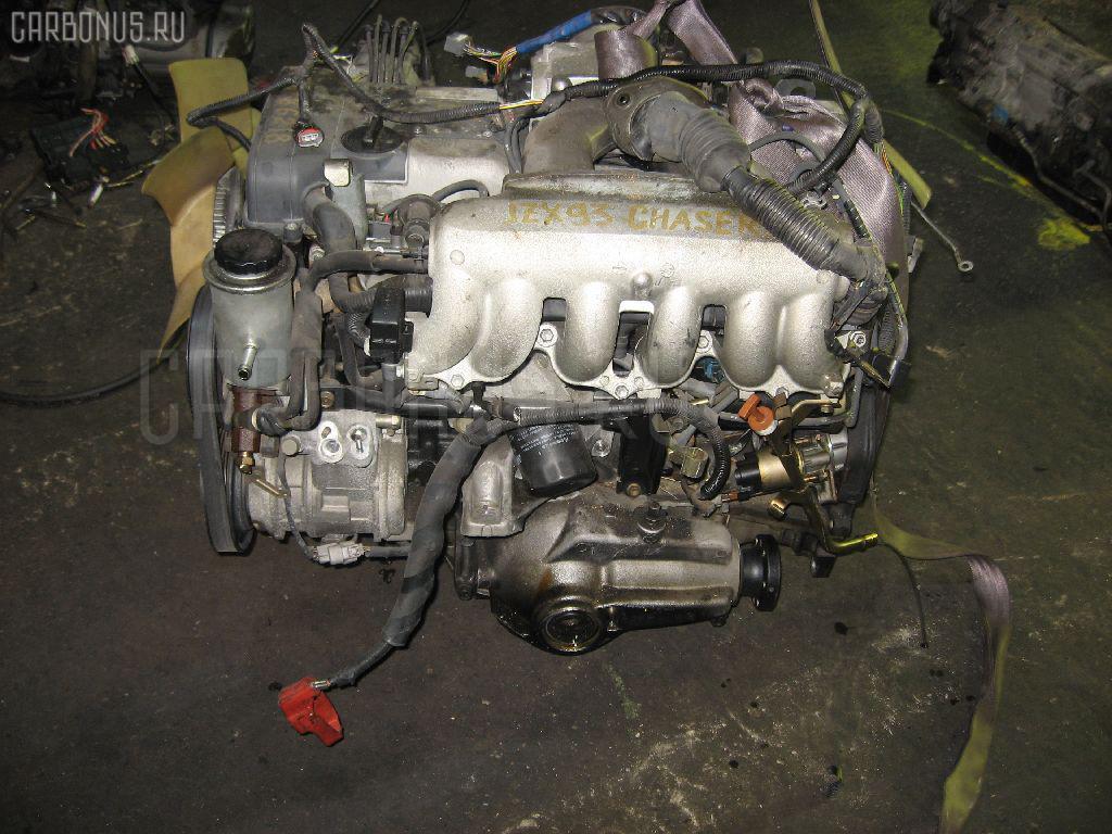 Двигатель TOYOTA MARK II JZX93 1JZ-GE. Фото 8