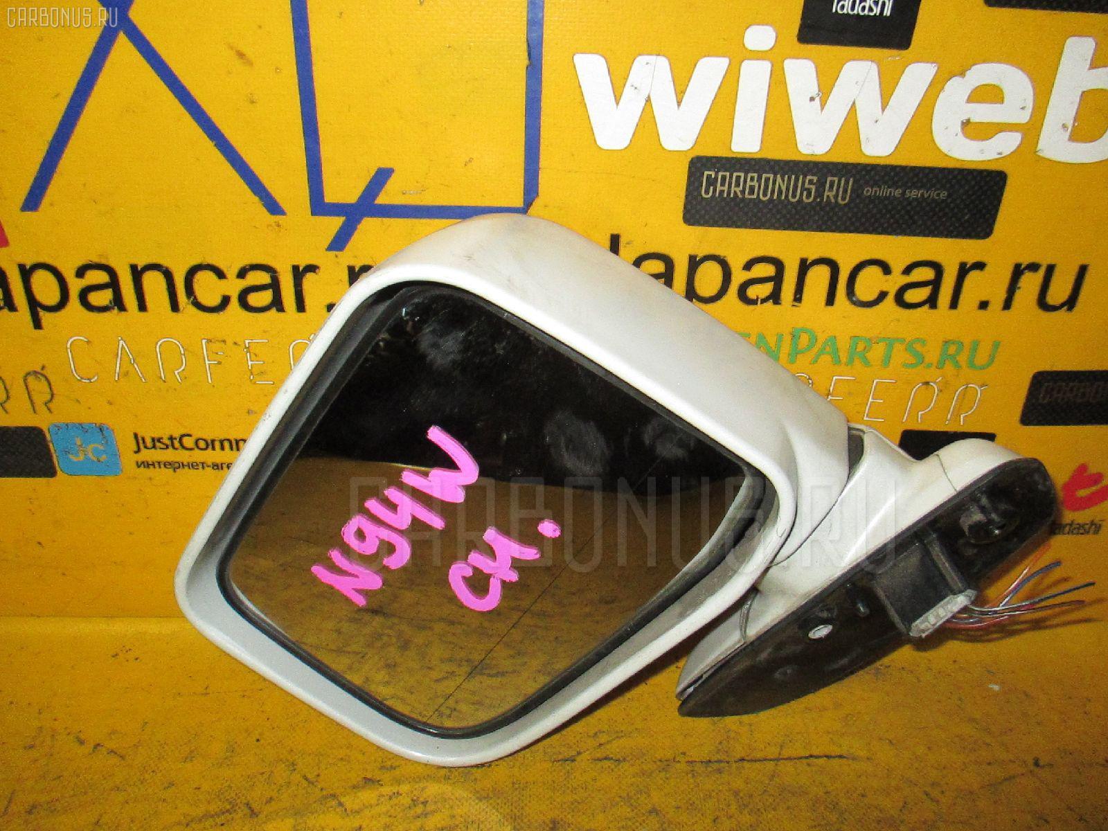 Зеркало двери боковой MITSUBISHI CHARIOT GRANDIS N94W. Фото 9