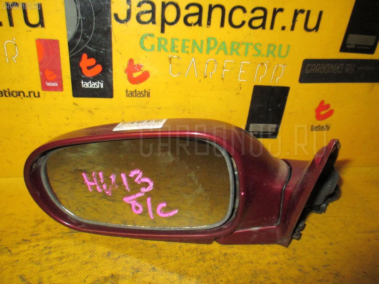 Зеркало двери боковой NISSAN BLUEBIRD HU13 Фото 1