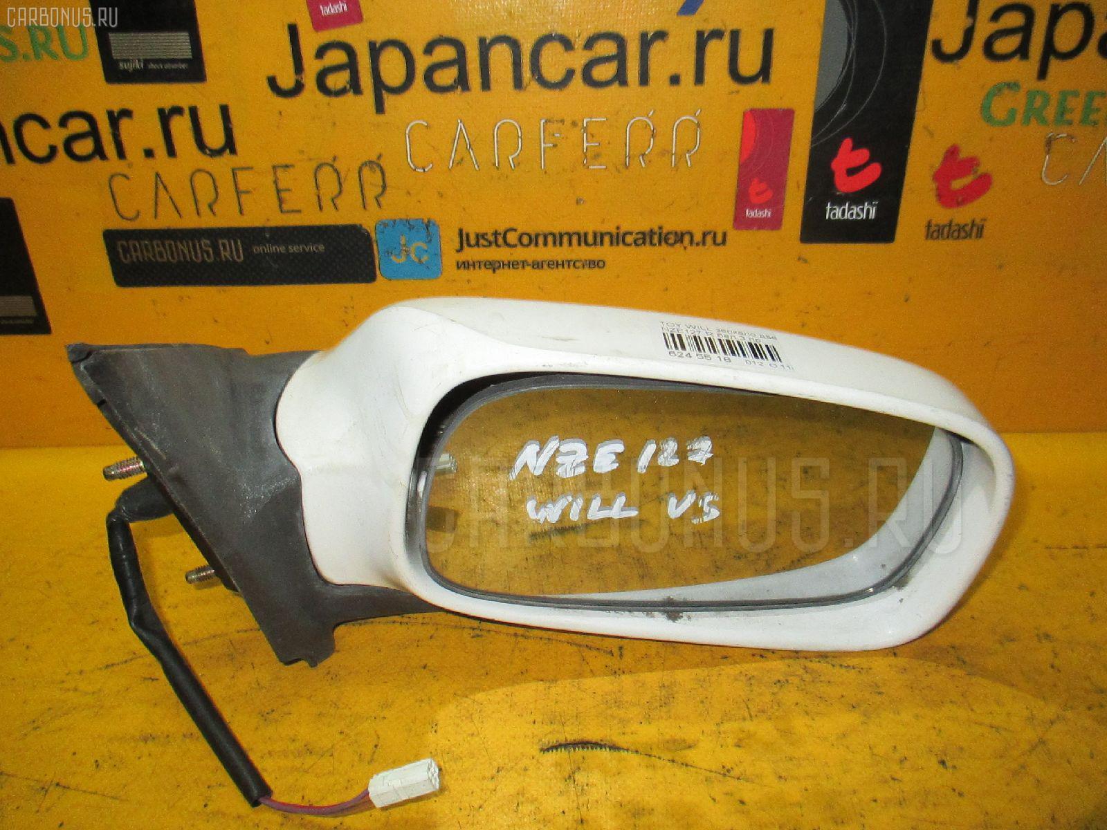 Зеркало двери боковой TOYOTA WILL VS NZE127 Фото 1