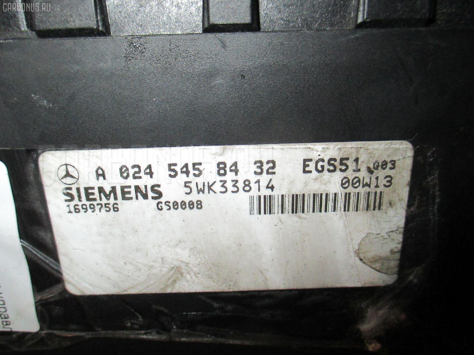 Блок управления АКПП MERCEDES-BENZ E-CLASS STATION WAGON S210.261 112.911 Фото 2