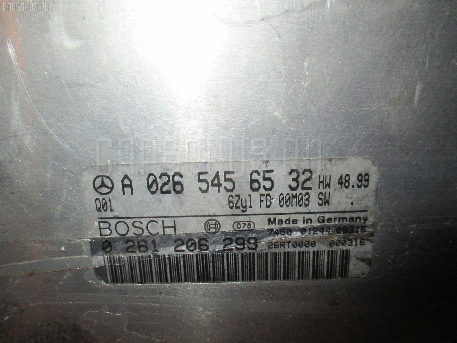 Блок EFI MERCEDES-BENZ E-CLASS STATION WAGON S210.261 112.911 Фото 2