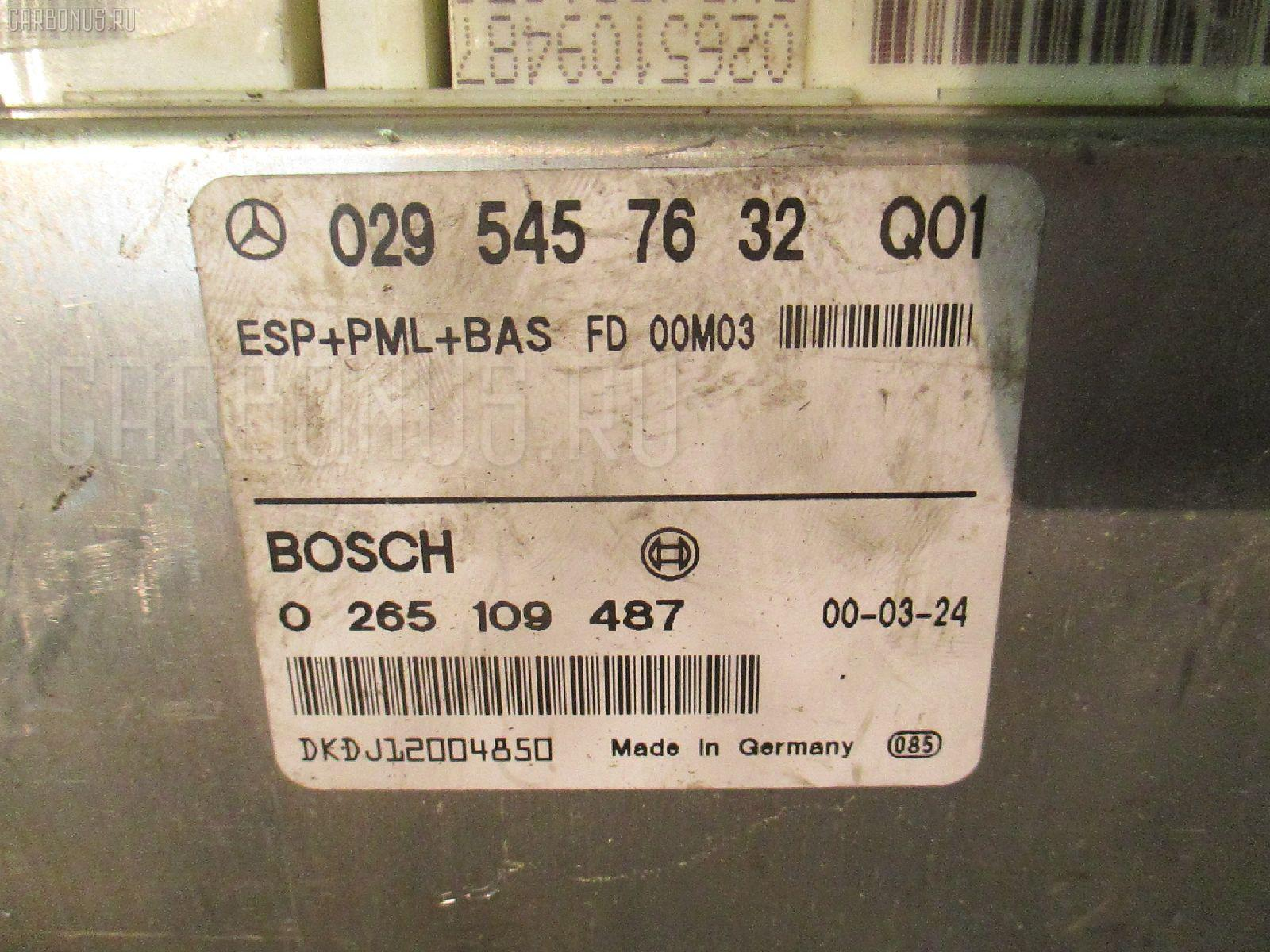 Блок ABS Mercedes-benz E-class station wagon S210.261 112.911 Фото 1