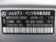 Дефлектор Mercedes-benz M-class W163.154 Фото 9