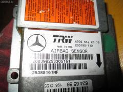Блок управления air bag MERCEDES-BENZ M-CLASS W163.154 Фото 1
