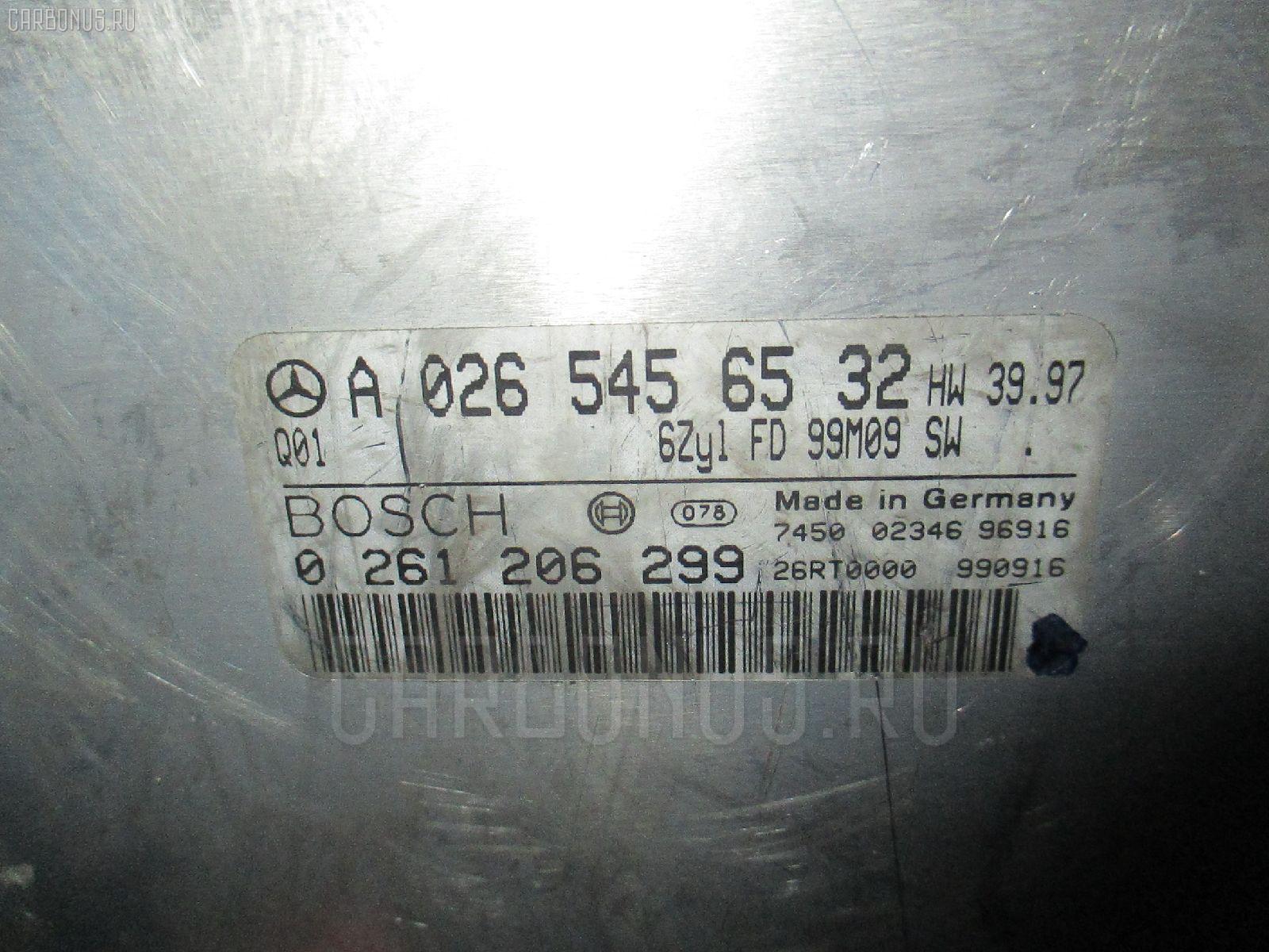 Блок EFI MERCEDES-BENZ E-CLASS STATION WAGON S210.265 112.941 Фото 1