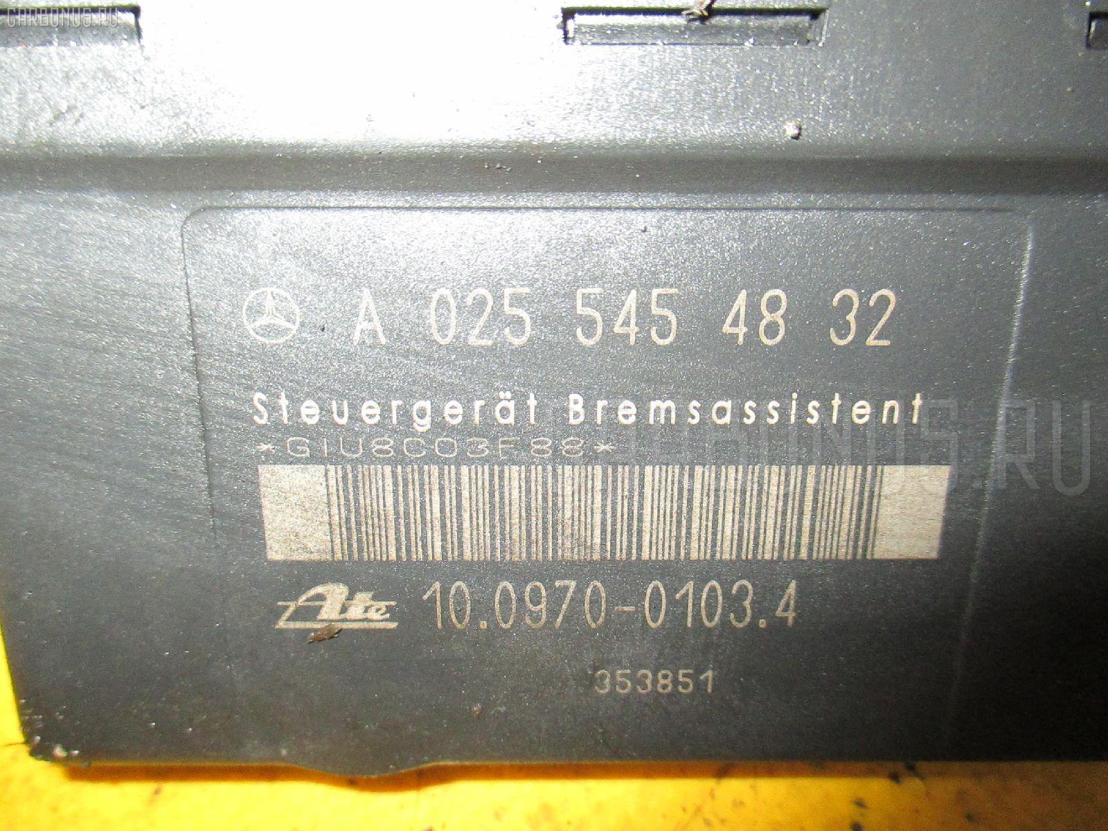 Блок ABS MERCEDES-BENZ E-CLASS STATION WAGON S210.265 112.941 Фото 1
