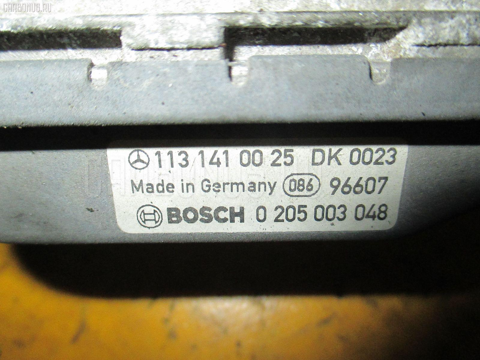 Дроссельная заслонка MERCEDES-BENZ E-CLASS W210.070 113.940 Фото 1