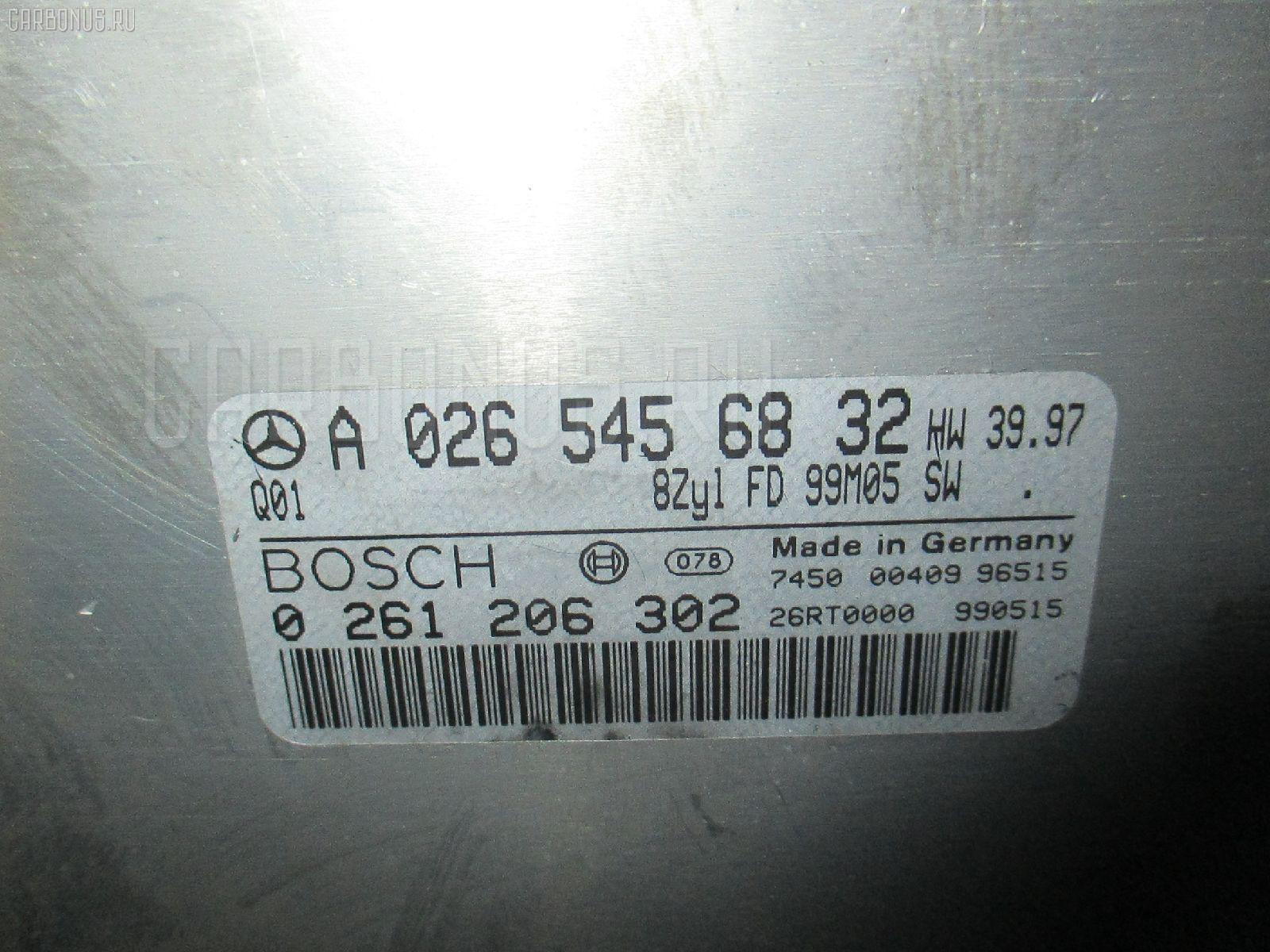 Блок EFI MERCEDES-BENZ E-CLASS W210.070 113.940 Фото 1