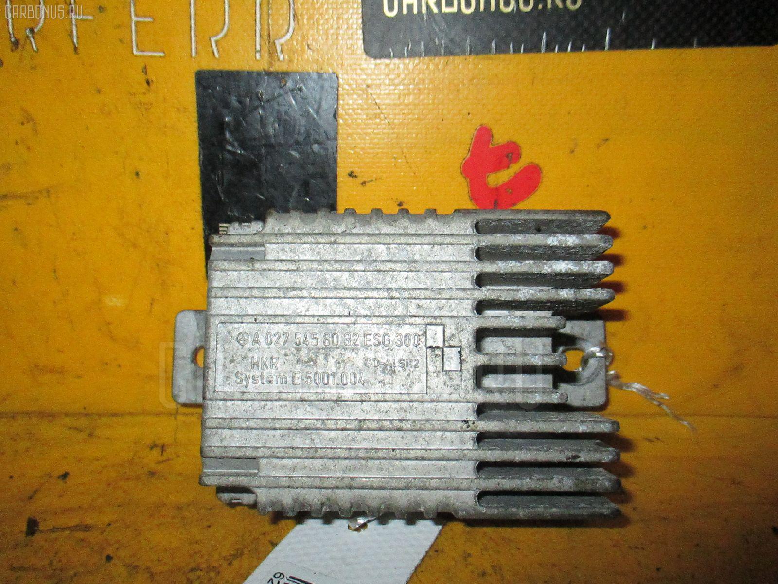 Блок управления вентилятором MERCEDES-BENZ E-CLASS W210.070 113.940 Фото 3