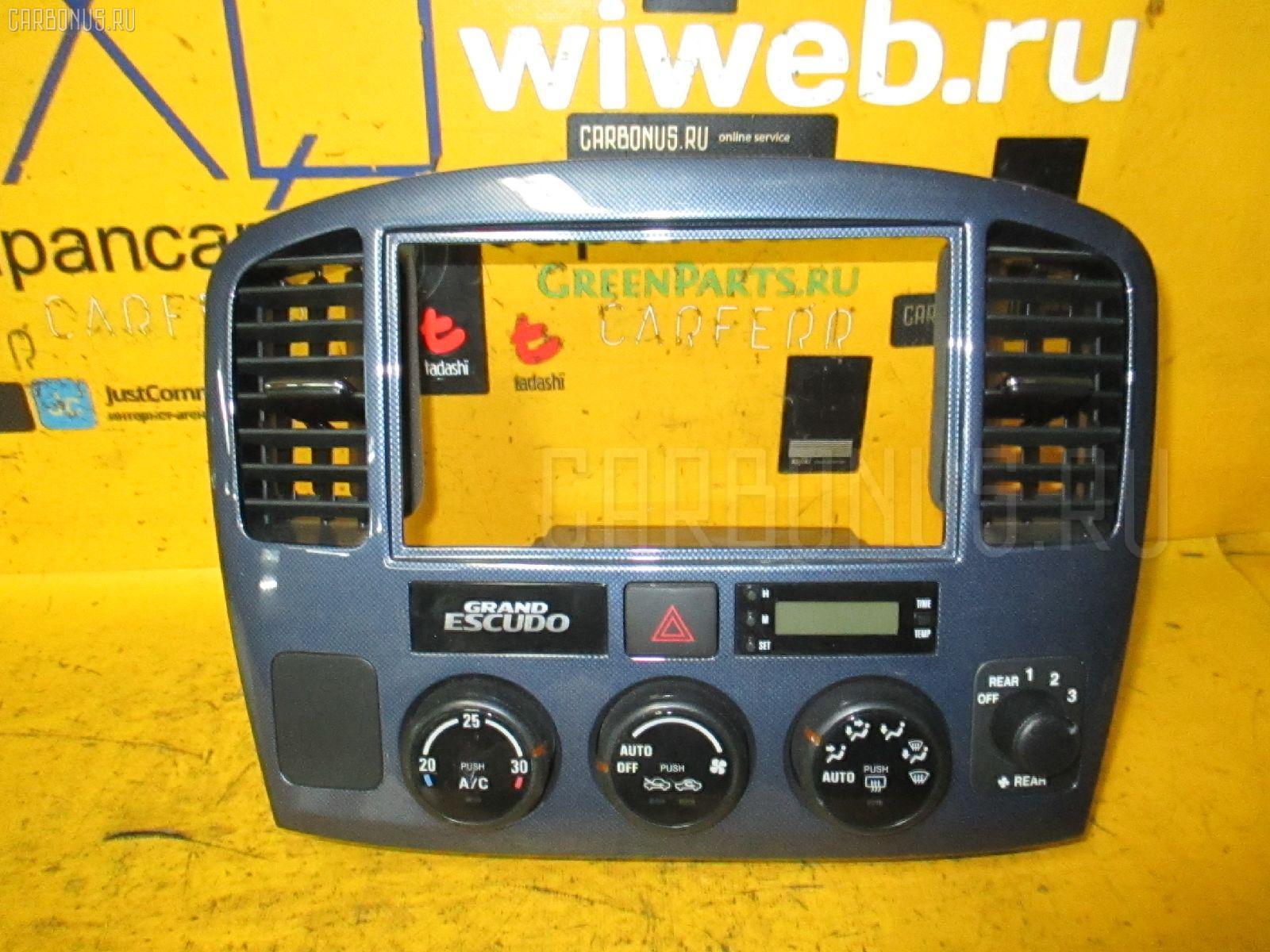 Блок управления климатконтроля SUZUKI GRAND ESCUDO TX92W H27A Фото 2
