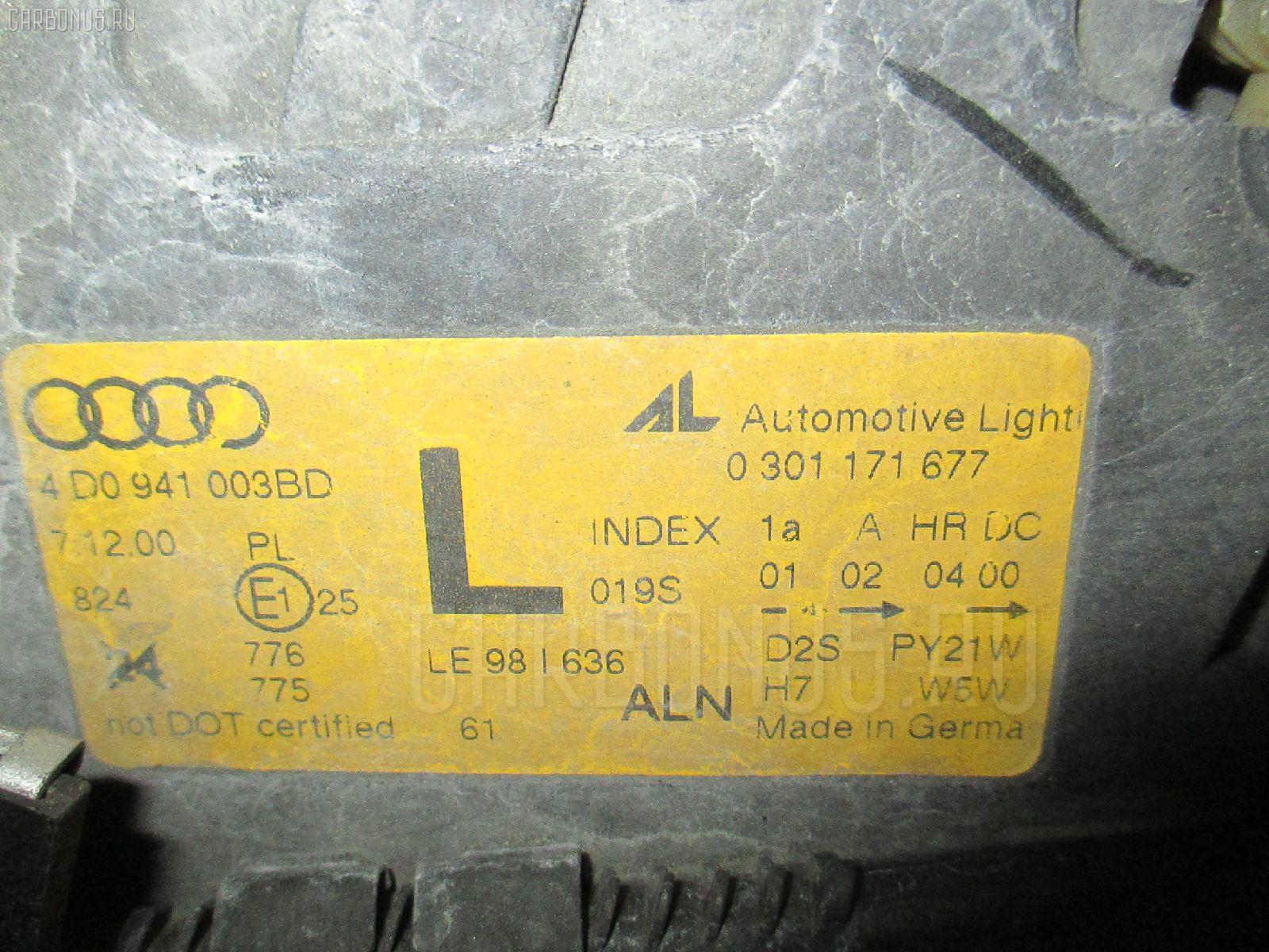 Фара AUDI A8 4DAUW Фото 3