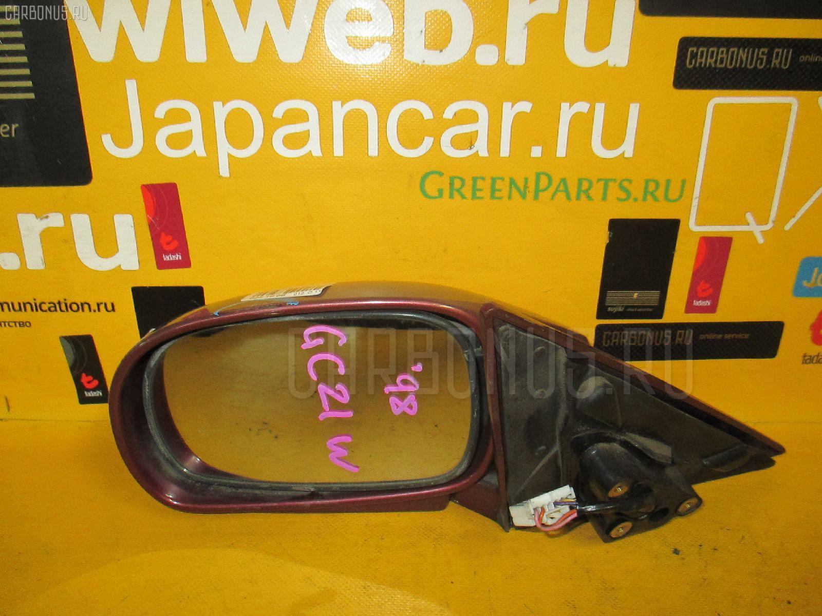 Зеркало двери боковой SUZUKI CULTUS CRESCENT WAGON GC21W. Фото 4