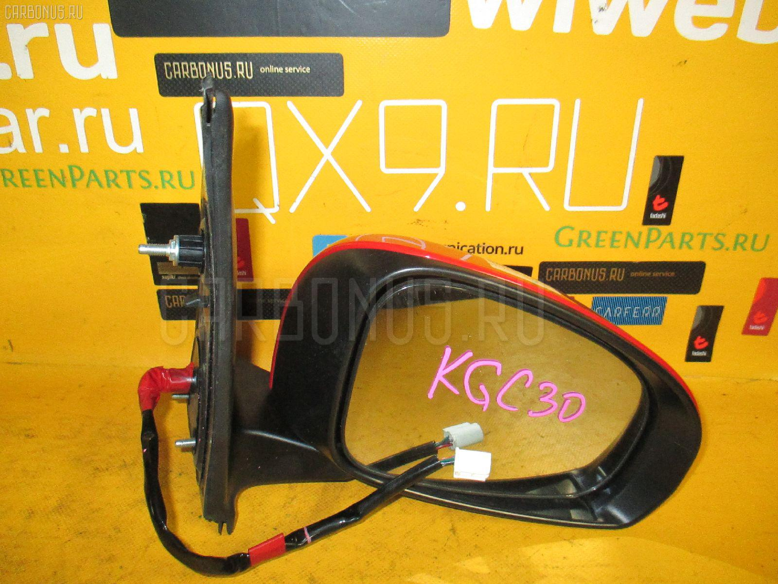 Зеркало двери боковой TOYOTA PASSO KGC30. Фото 1