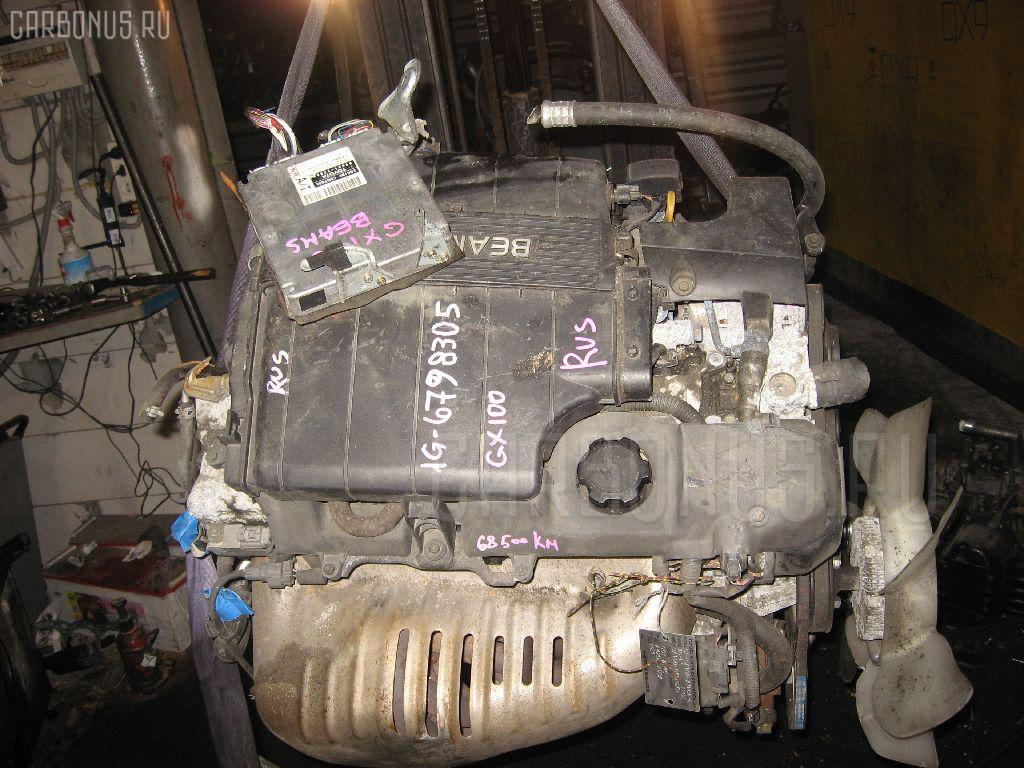 Двигатель TOYOTA GX100 1G-FE. Фото 5