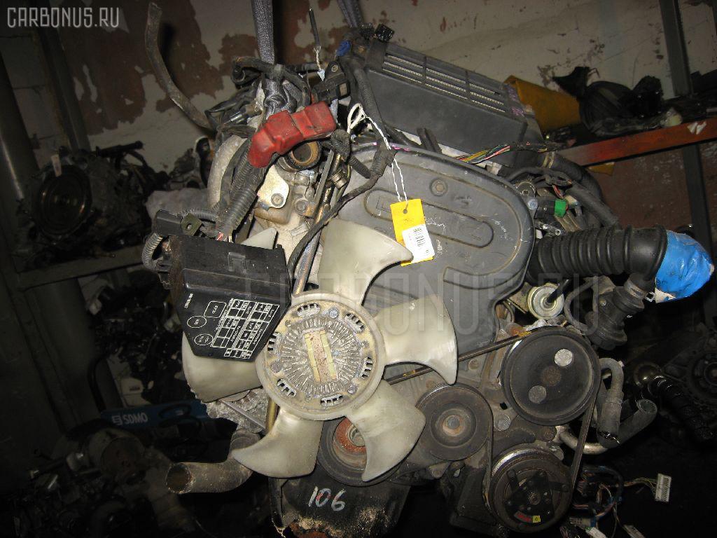 Двигатель MITSUBISHI PAJERO MINI H56A 4A30T. Фото 11