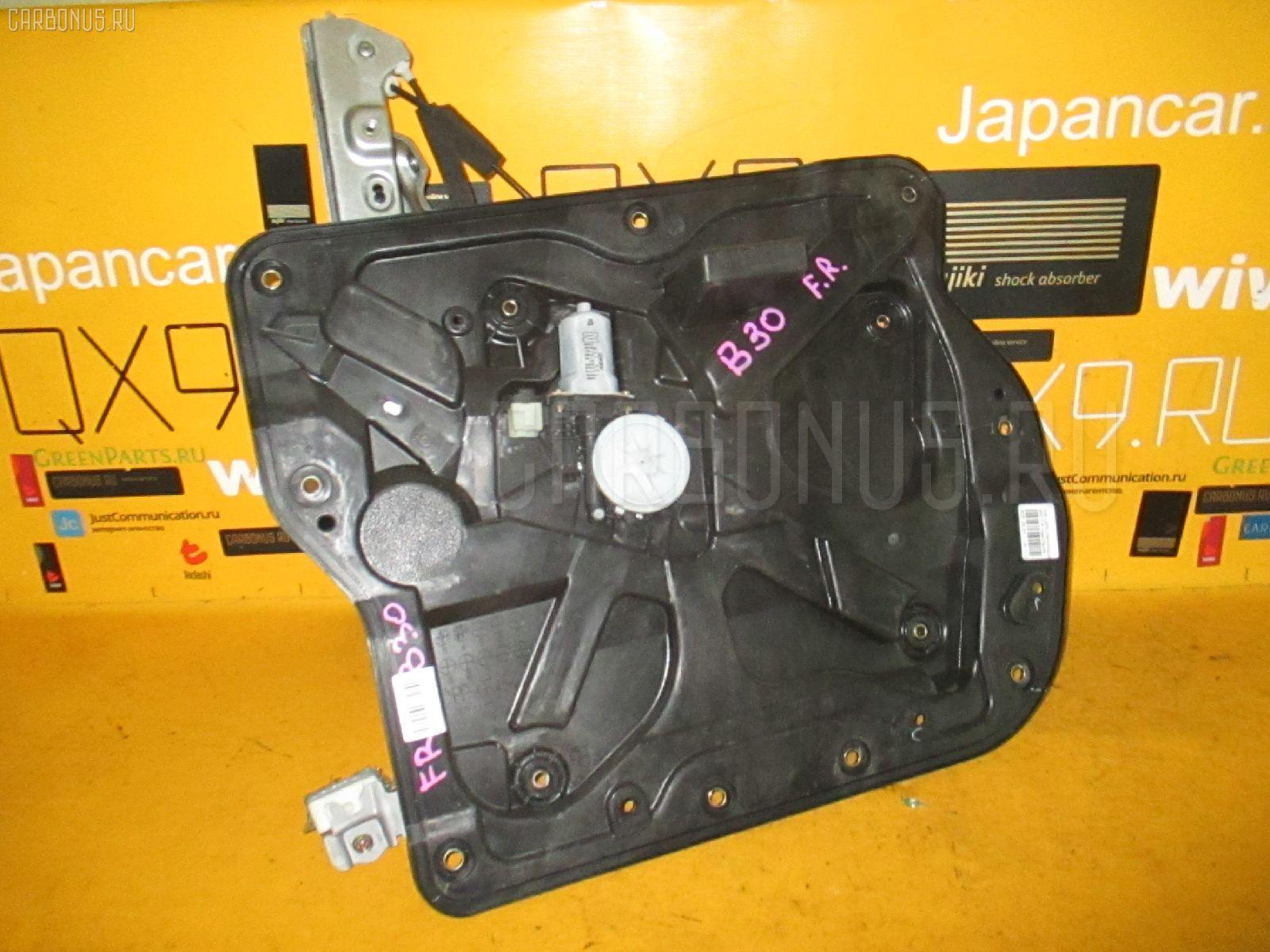 Стеклоподъемный механизм на Nissan Lafesta B30 Фото 1