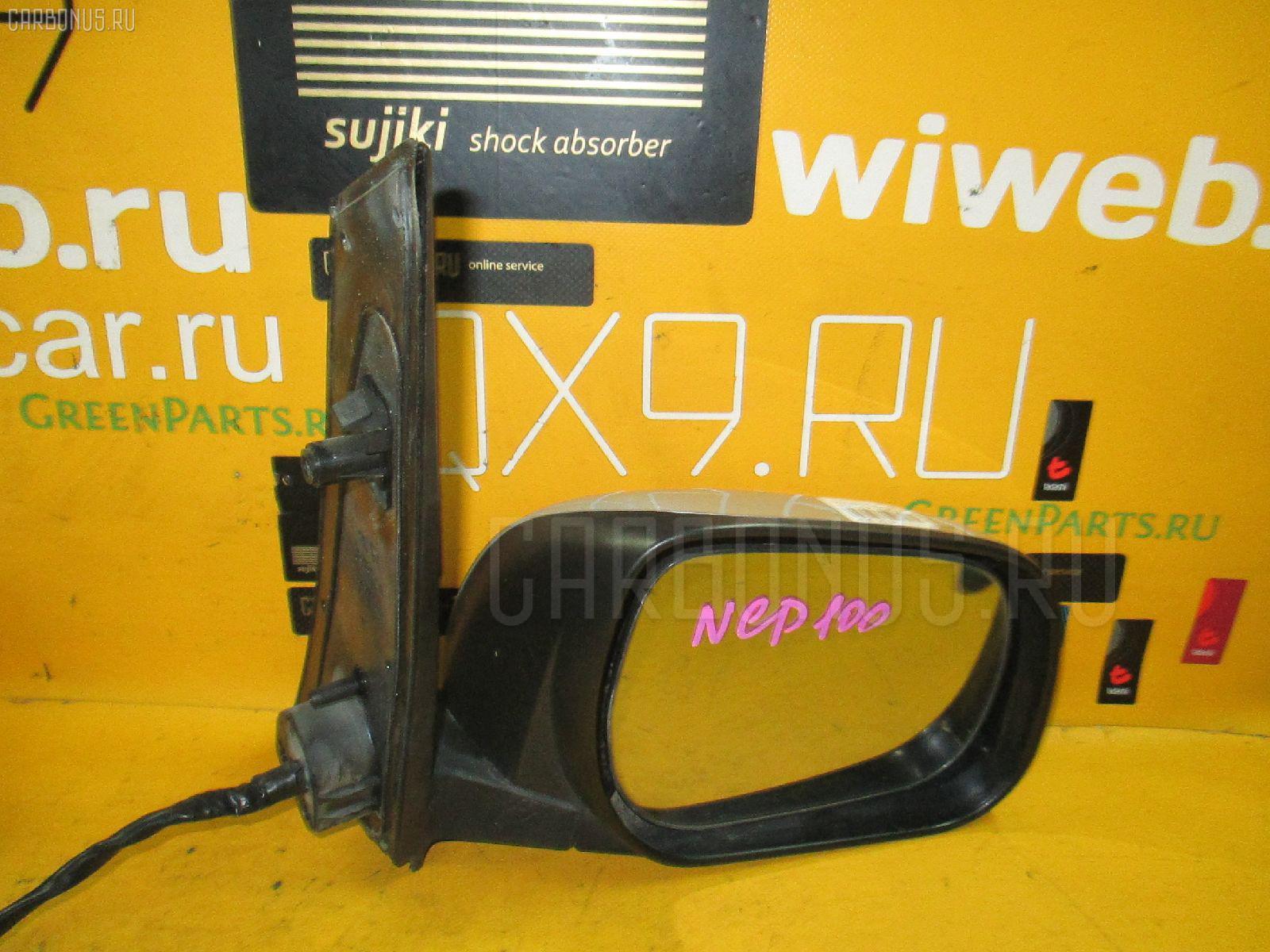 Зеркало двери боковой TOYOTA RACTIS NCP100 Фото 1