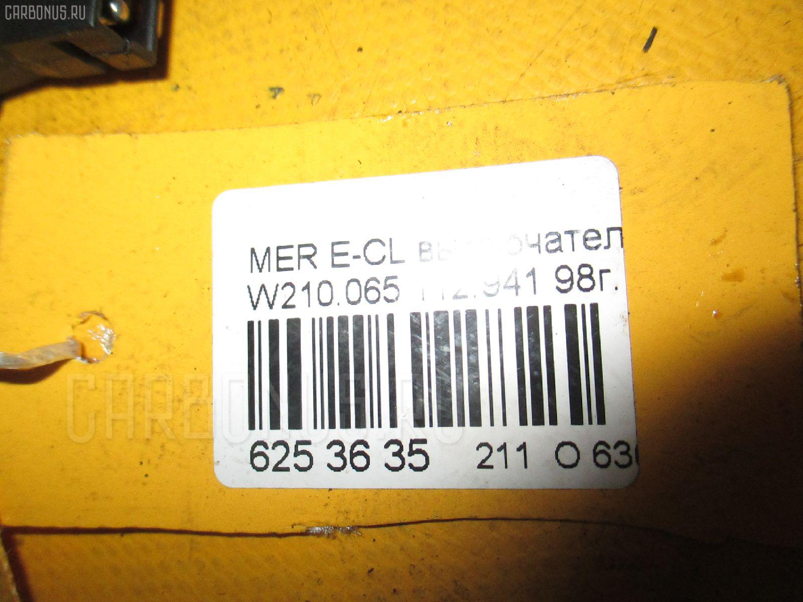 Выключатель концевой MERCEDES-BENZ E-CLASS W210.065 Фото 3