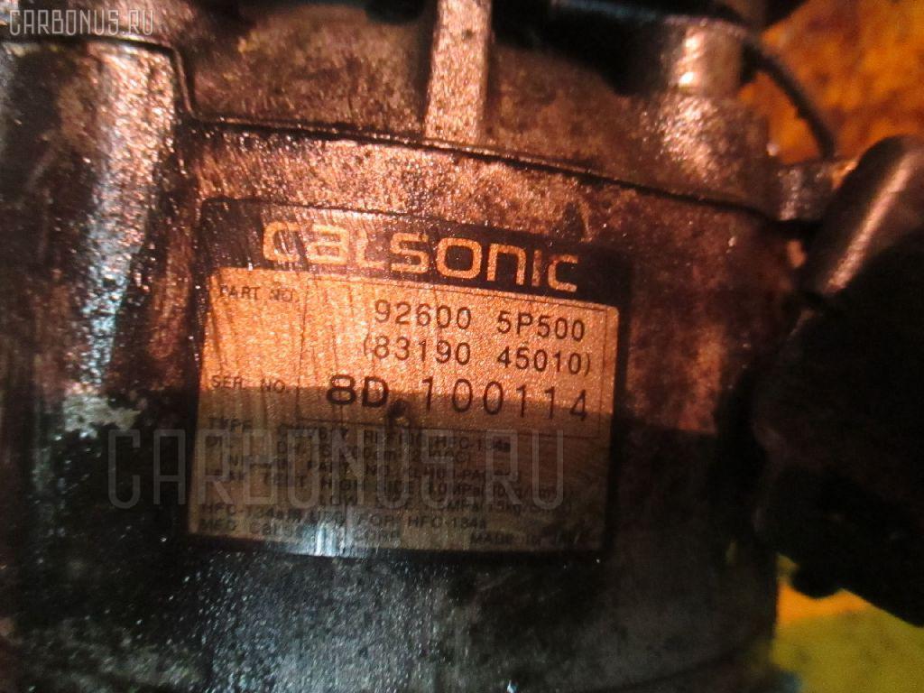 Компрессор кондиционера NISSAN CEDRIC ENY33 RB25DET Фото 1