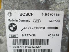 Блок управления air bag Bmw 3-series E46-EX52 Фото 1