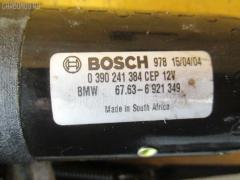 Мотор привода дворников BMW 3-SERIES E46-EX52 Фото 1