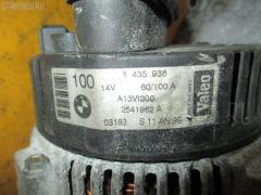 Генератор Bmw 3-series E46-AL32 M43-194E1 Фото 3