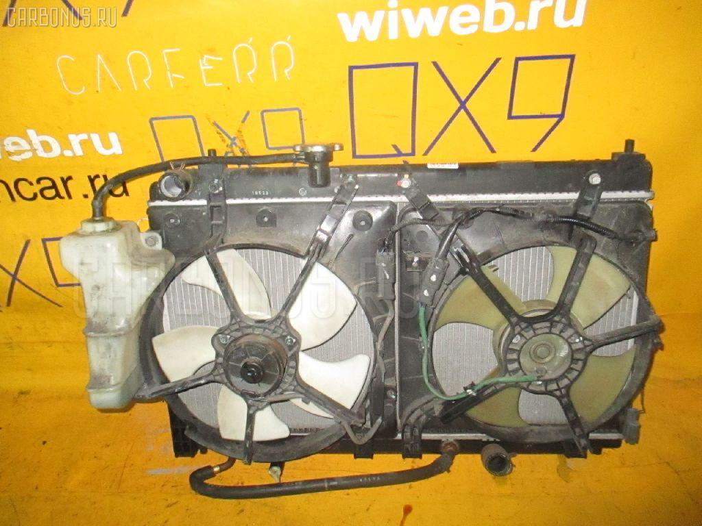 Радиатор ДВС HONDA FIT ARIA GD6 L13A. Фото 6