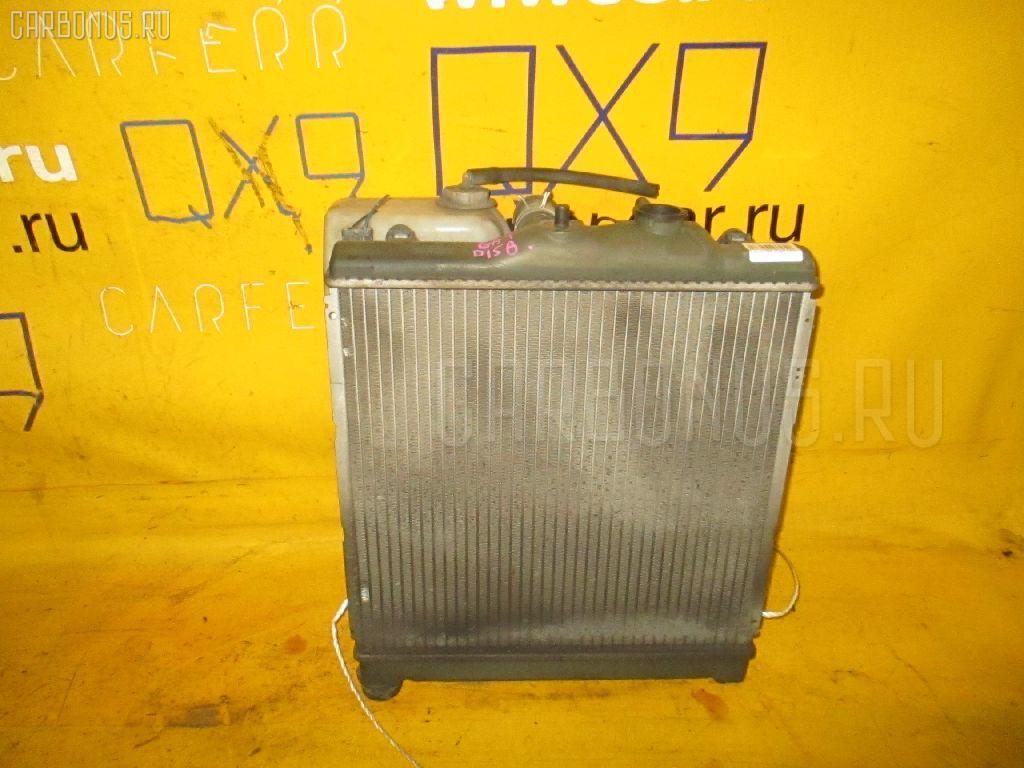 Радиатор ДВС HONDA CAPA GA4 D15B. Фото 9
