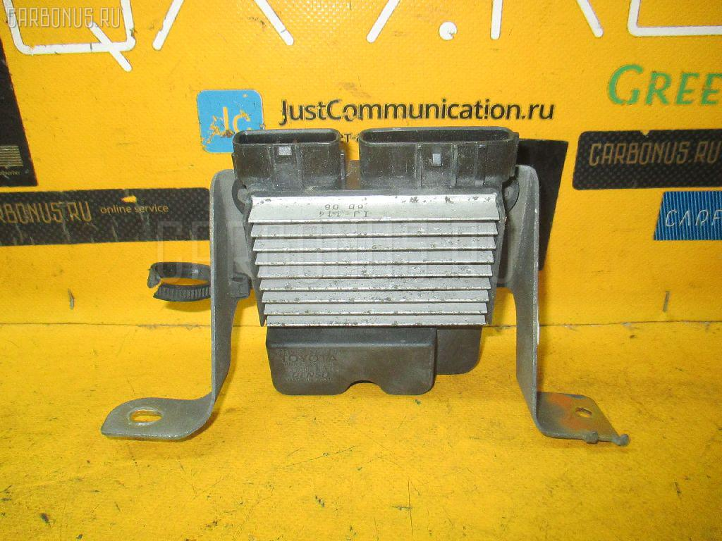 Блок управления инжекторами TOYOTA OPA ACT10 1AZ-FSE. Фото 3