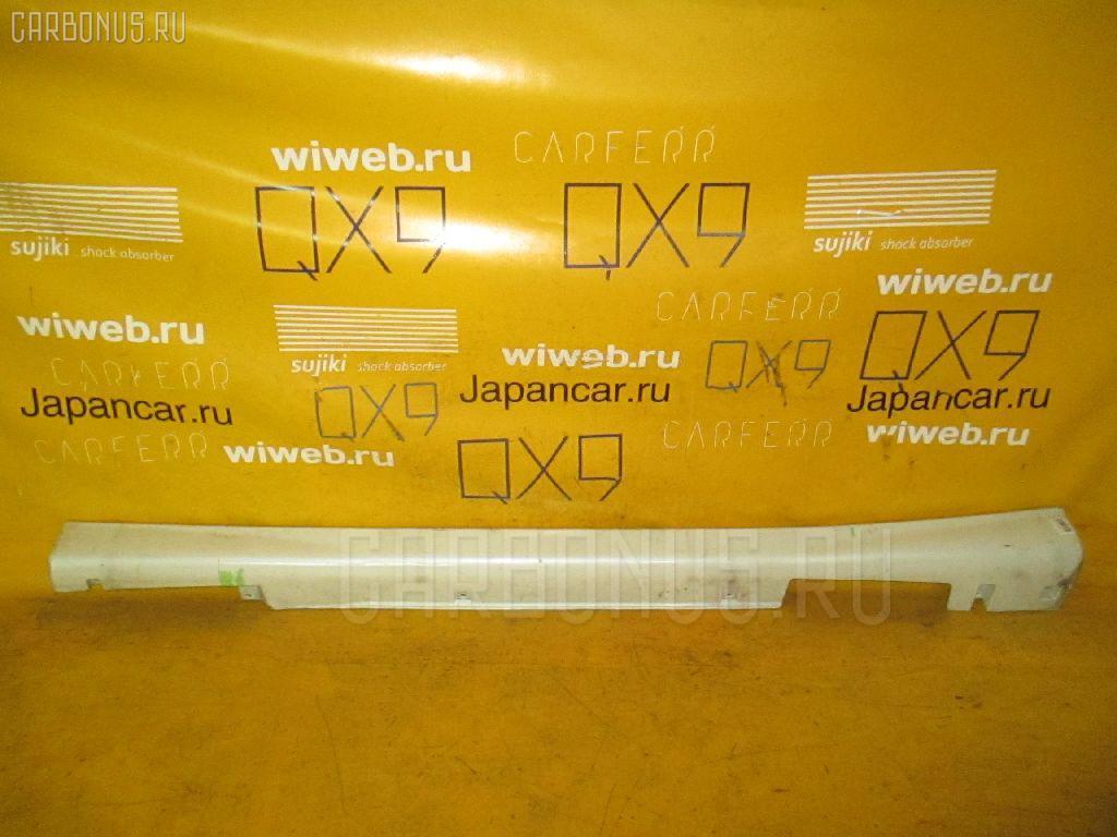 Порог кузова пластиковый ( обвес ) NISSAN TINO HV10. Фото 1