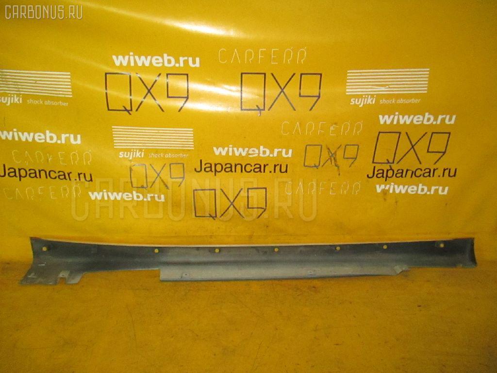 Порог кузова пластиковый ( обвес ) NISSAN TINO HV10. Фото 2