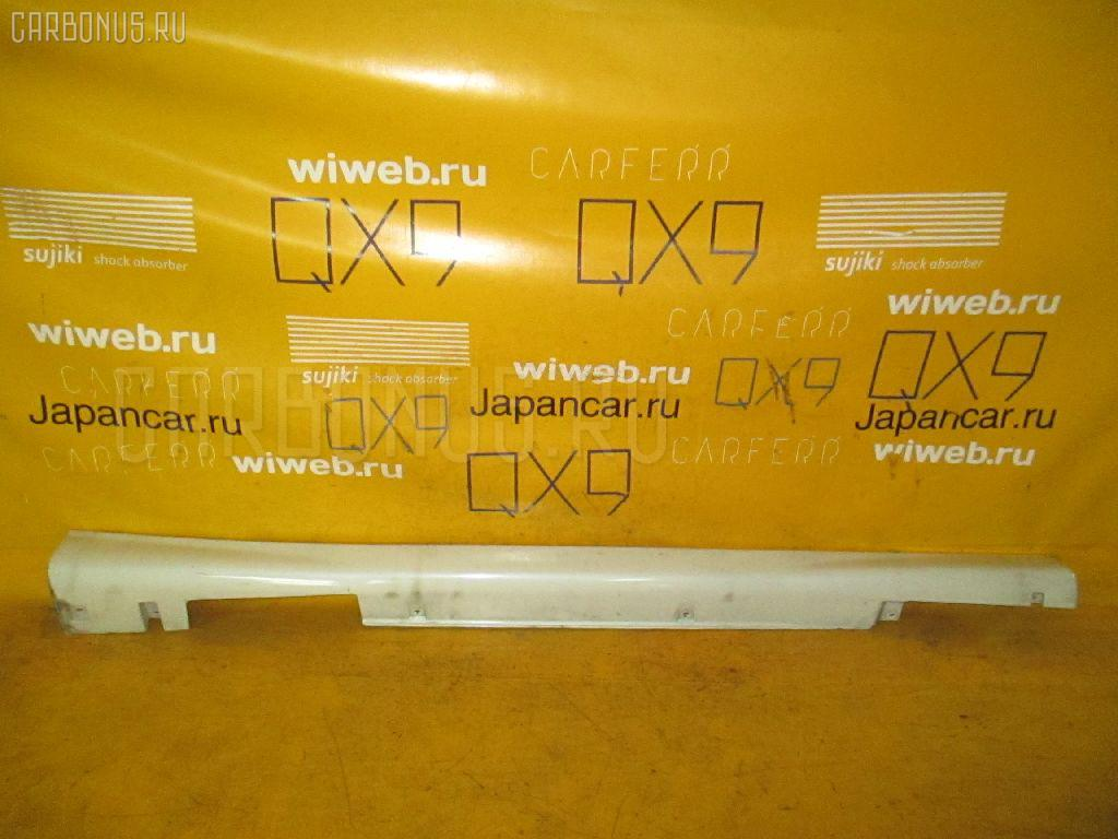 Порог кузова пластиковый ( обвес ) NISSAN TINO HV10. Фото 3