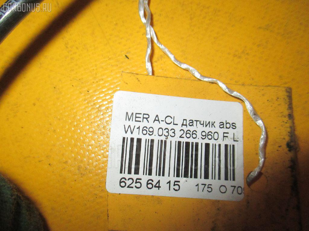Датчик ABS MERCEDES-BENZ A-CLASS W169.033 266.960 Фото 2