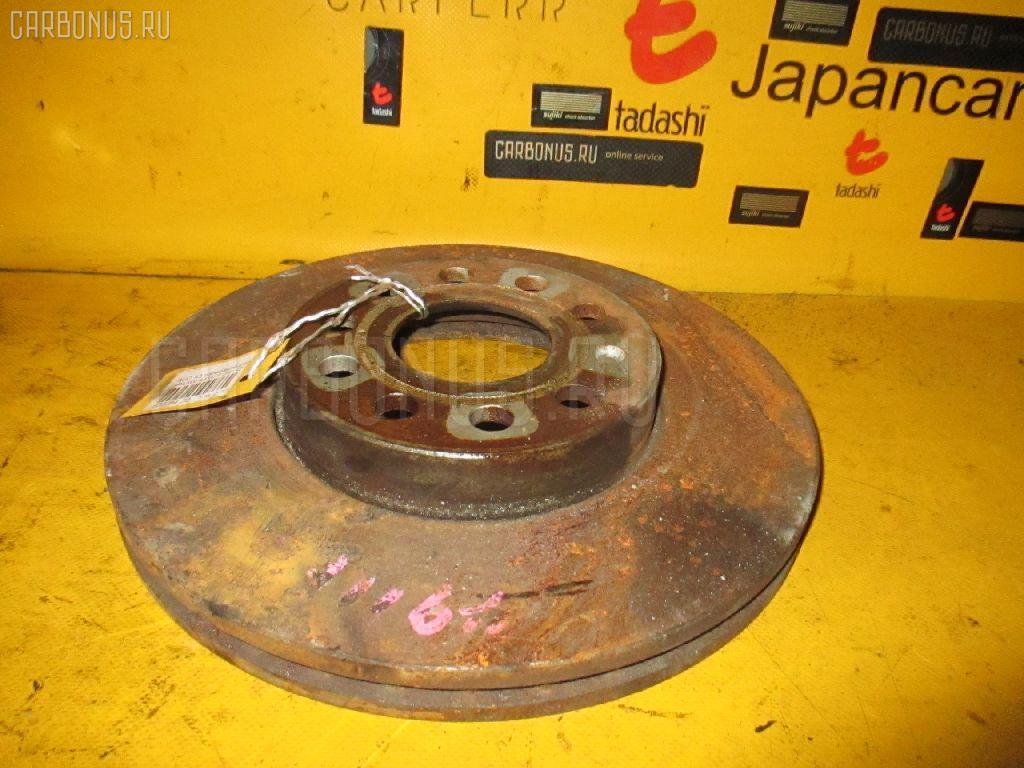 Тормозной диск AUDI A3 8PAXW AXW Фото 1