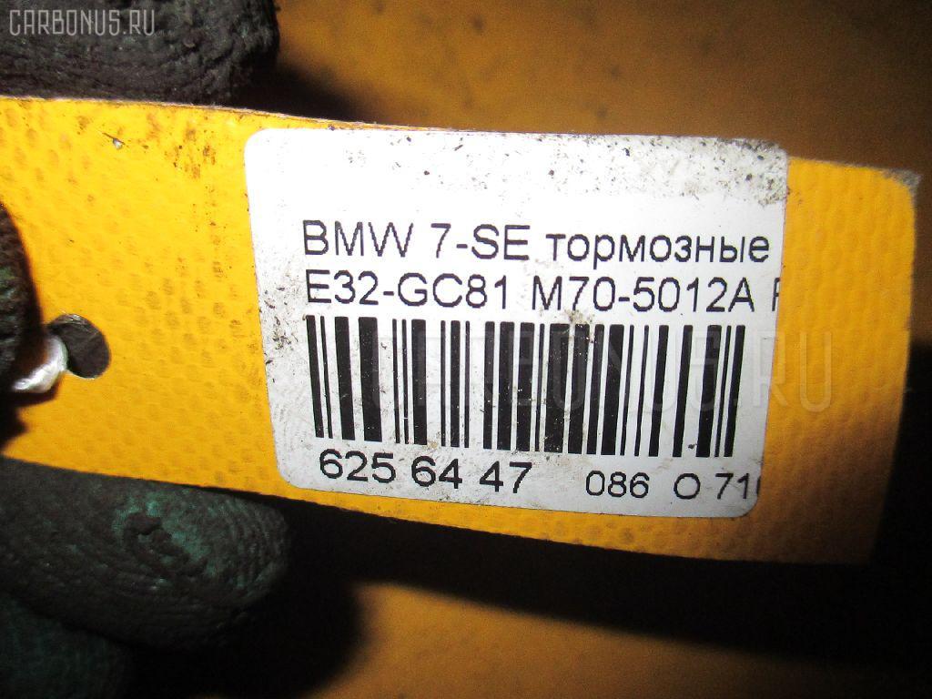 Тормозные колодки BMW 7-SERIES E32-GC81 M70-5012A Фото 2