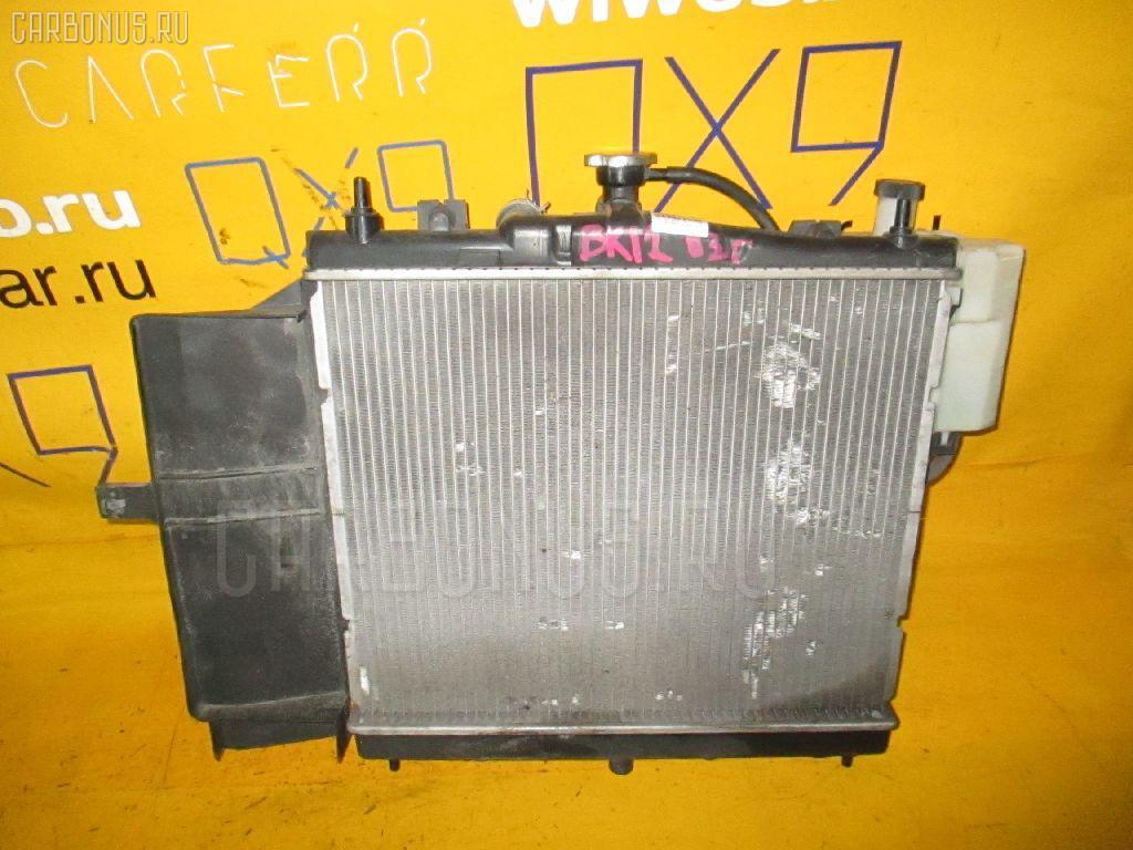 Радиатор ДВС NISSAN MARCH BK12 CR14DE. Фото 6