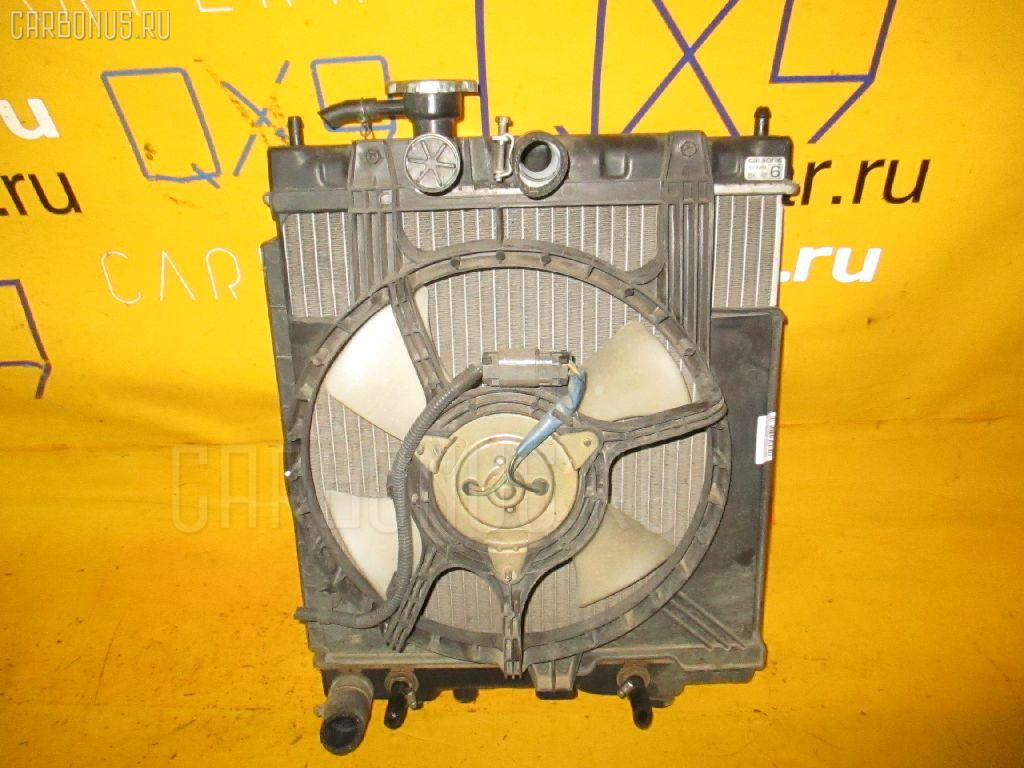 Радиатор ДВС NISSAN MARCH HK11 CG13DE. Фото 7