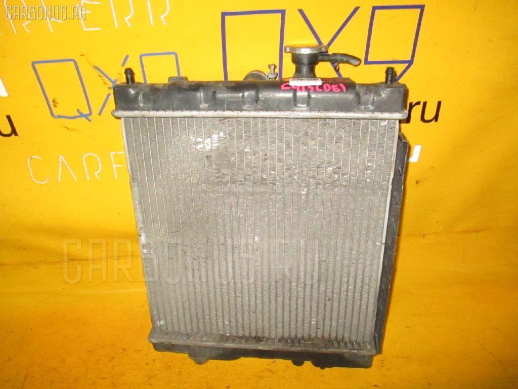 Радиатор ДВС NISSAN MARCH HK11 CG13DE. Фото 8